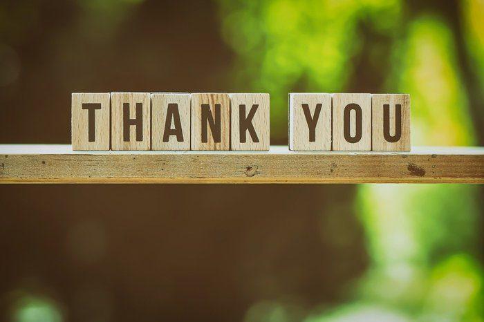 il grande potere della gratitudine